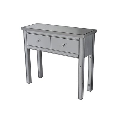 Avery Console Table Finish: Silver