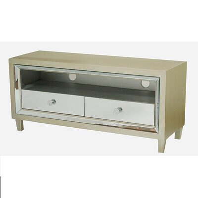 Avery 47.3 TV Stand Color: Champagne