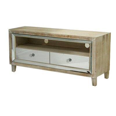 Avery 47.3 TV Stand Color: White Wash
