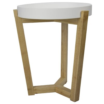 """Plant Stand Size: 19.7"""" H x 15.8"""" W x 15.8"""" D, Color: White"""