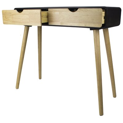 Euro Console Table Finish: Black