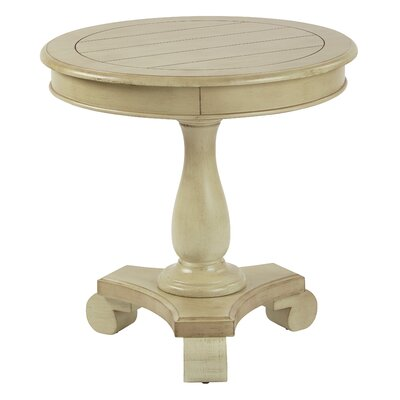 Avalon Round End Table Finish: Antique Celedon