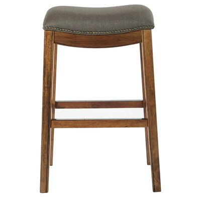 Austin 31 Bar Height Stool Upholstery: Klein Otter
