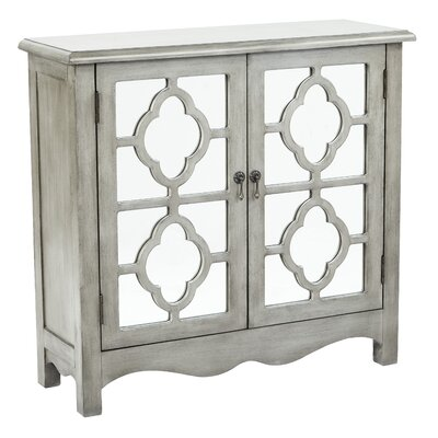 Keya Storage Console Table Finish: Antique Taupe