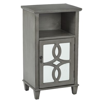 Elba Accent End Table Color: Antique Taupe