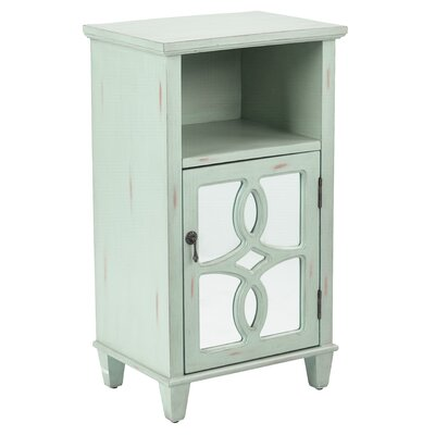 Elba Accent End Table Color: Antique Mint