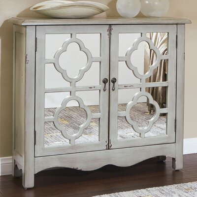Keya Storage Console Table Finish: Antique Gray