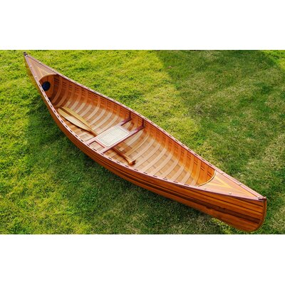 Image of Old Modern Handicrafts Canoe with Ribs Curved bow 10 feet (K034)