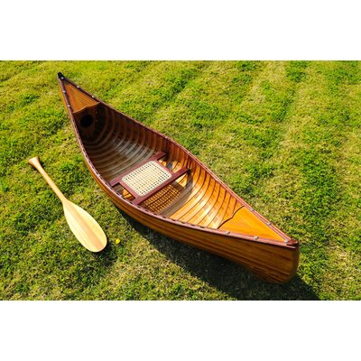 Image of Old Modern Handicrafts 6 Feet Canoe with Ribs (K037)