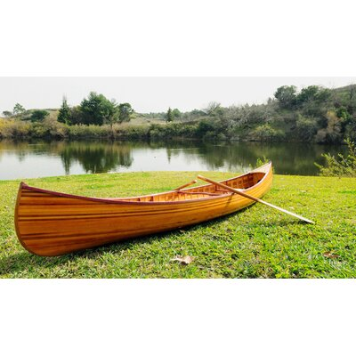 Image of Old Modern Handicrafts Canoe with Ribs Curved bow 12 feet (K080)