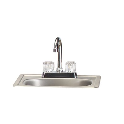 Stainless Steel Sink with Faucet 12389