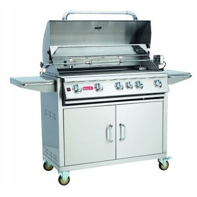 """Bull Outdoor 38"""" Brahma Cart Gas Grill with Lights - Gas Type: Natural Gas at Sears.com"""