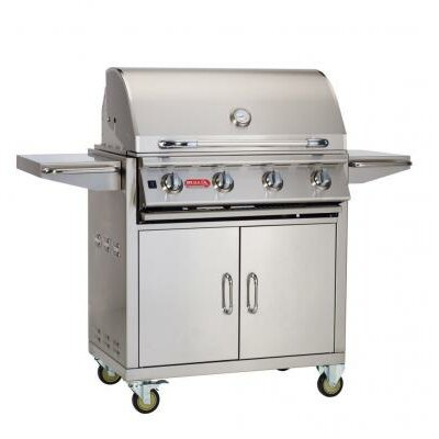 """Bull Outdoor Lonestar """"Select"""" Cart Gas Grill - Gas Type: Natural Gas"""