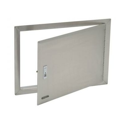 Stainless Steel Access Door with Lock and Frame