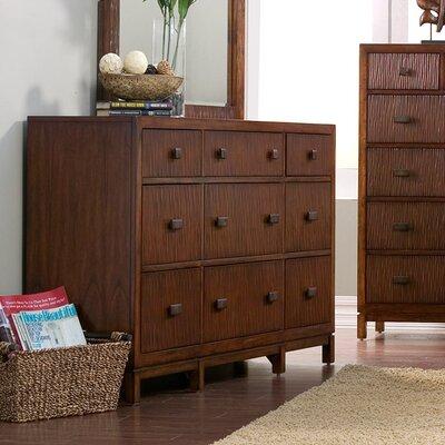 Lowery 9 Drawer Standard Dresser