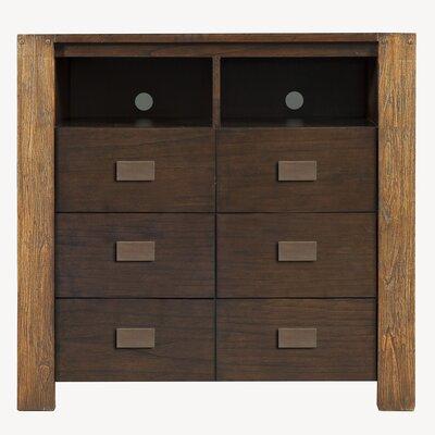 Alpine Furniture ORI-213-11 Element 6 Drawer TV Media Chest in Espresso 22624