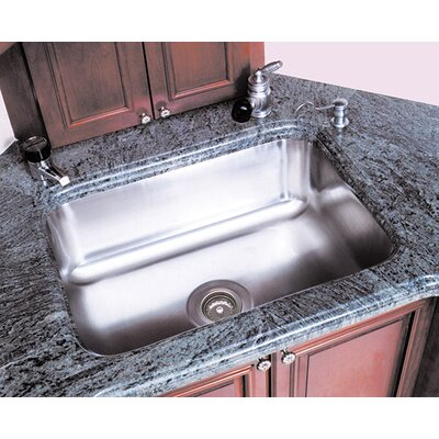 Single Bowl Undermount Prep Sink