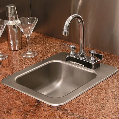 Single Bowl Drop-In Kitchen Sink