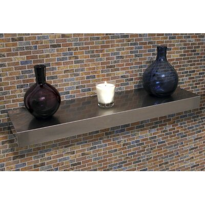 A-Line by Advance Tabco Floating Wall Shelf - Size: 3