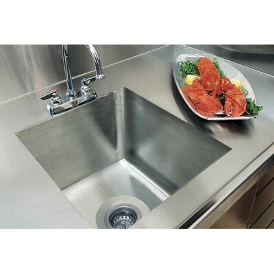 20 x 16 Integral Single Bowl Kitchen Sink