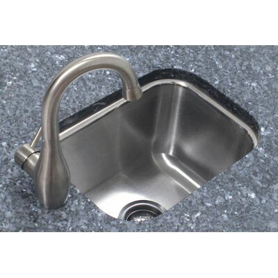 12.5 x 16.5 Single Bowl Undermount Prep Kitchen Sink