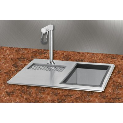 21 x 18 Water Station Kitchen Sink with Ice Bin