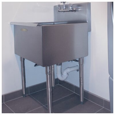 24 x 24 Single Freestanding Utility Sink