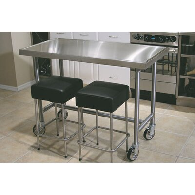 Stainless Steel Portable Kitchen Islands And Kitchen Carts Kitchen Portable Islands Com