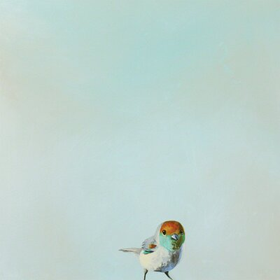 'Little Joey' by Mincing Mockingbird Painting Print on Wrapped Canvas