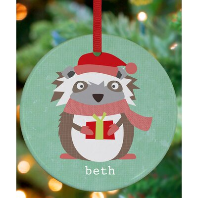 Opossum Presents Personalized Ornament by Vicky Barone