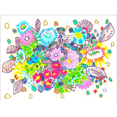 'Spring Has Sprung' by Jo Chambers Graphic Art on Canvas NB23005