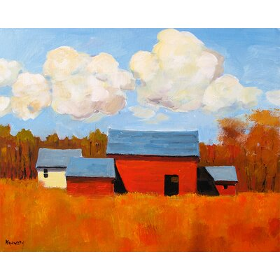 'Autumn Glory' by Robert Kennedy Painting Print on Canvas