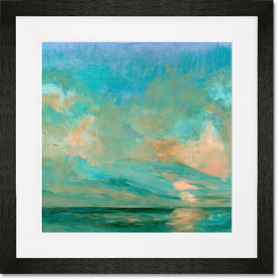 'Northern Sun' by Petite Malou Framed Painting Print