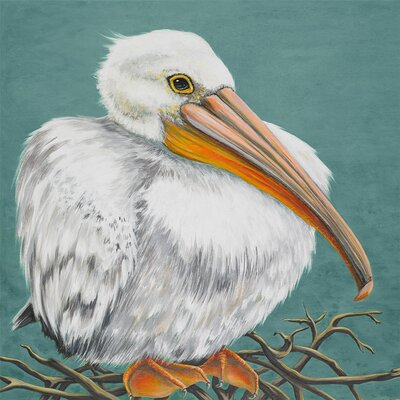 'Baby Pelly' by Karin Grow Painting Print on Wrapped Canvas