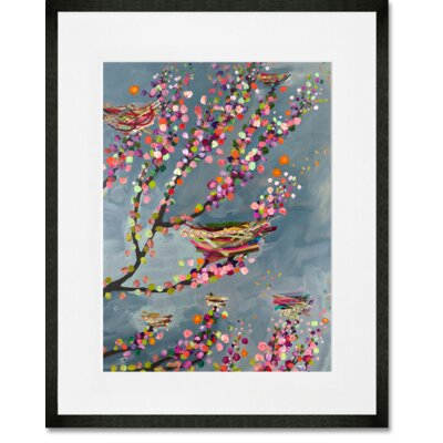 'Nests and Berries' Graphic Art Print NB21348