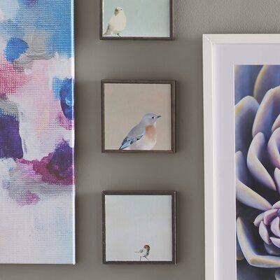 Mincing Mockingbird 3 Piece Framed Painting Print on Canvas Set