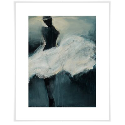 'White Skirt' by Christine Schwimmer Acrylic Painting Print on Paper Size: 12.5