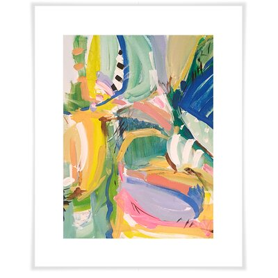 'Blue Room' by Maren Devine Acrylic Painting Print  Size: 12.5