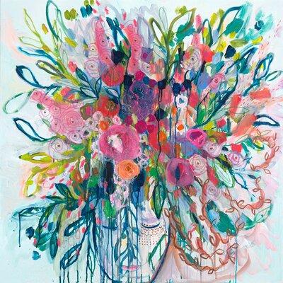 'Qoya' Acrylic Painting Print
