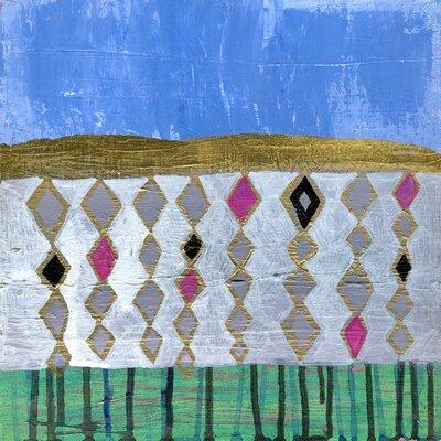 'Pyramid' Acrylic Painting Print