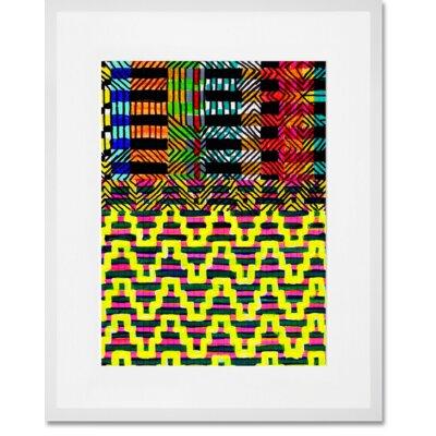 'New York 1225' Framed Graphic Art Print Format: White Frame, Size: 22