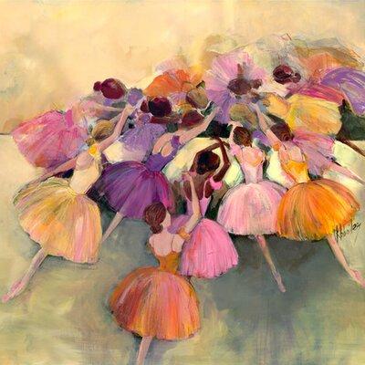 Ballerina Ensemble Canvas Art Size: 24