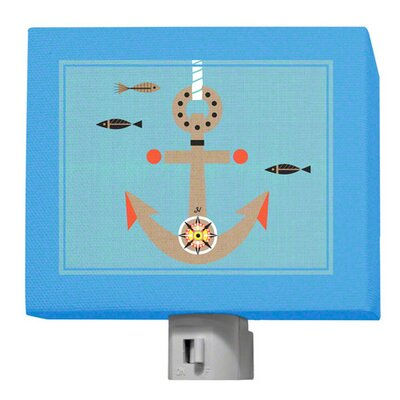 Redbeard and Crew Anchors and Sails Night Light