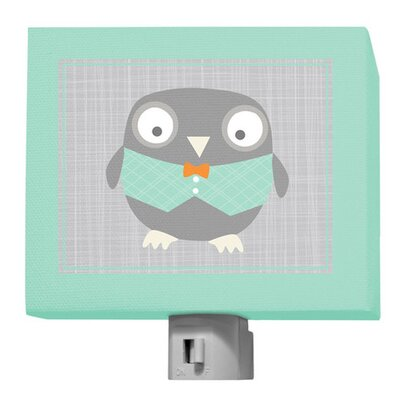 Happy Owl Night Light Color: Multi