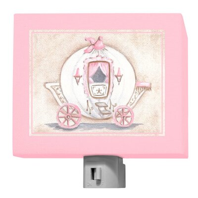 Little Princess Carriage Night Light