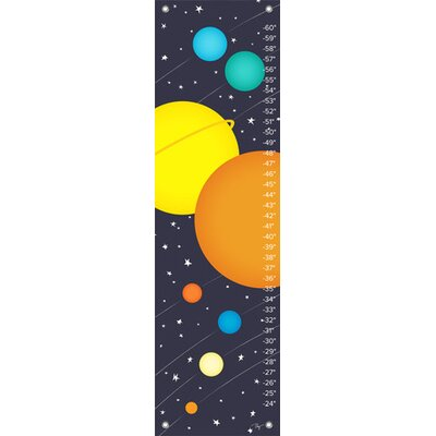 Oopsy Daisy Planets of the Solar System Growth Chart