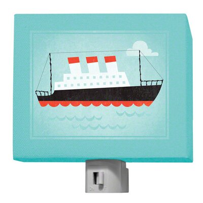 Making Waves Ocean Liner Night Light