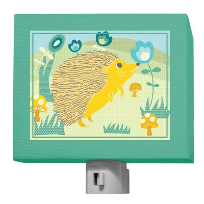 A Through Z Animals - Hedgehog Night Light