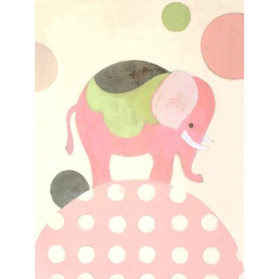 Ella Elephant Canvas Art PE0120