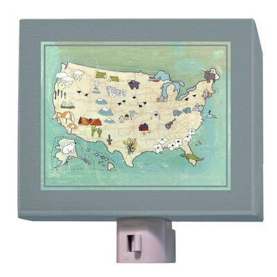 Camp USA Night Light